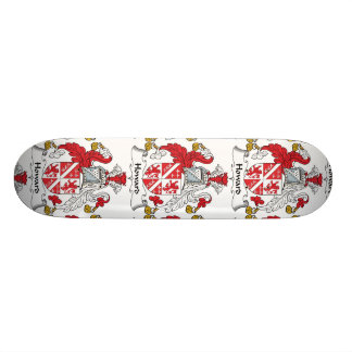 Escudo de la familia de Howard Tabla De Skate