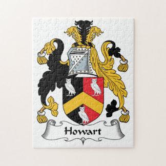 Escudo de la familia de Howart Puzzles Con Fotos