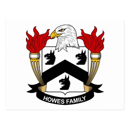 Escudo de la familia de Howes Postal