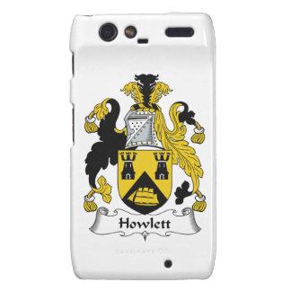 Escudo de la familia de Howlett Droid RAZR Carcasa