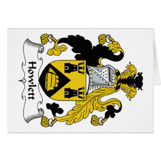 Escudo de la familia de Howlett Felicitaciones