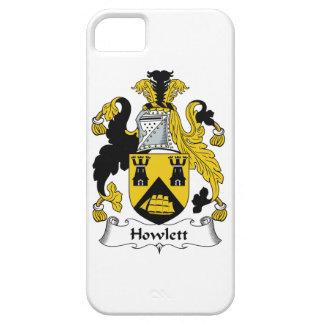 Escudo de la familia de Howlett iPhone 5 Case-Mate Coberturas