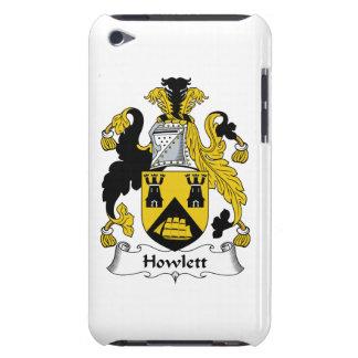 Escudo de la familia de Howlett iPod Touch Case-Mate Carcasas