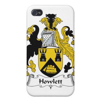 Escudo de la familia de Howlett iPhone 4/4S Carcasas