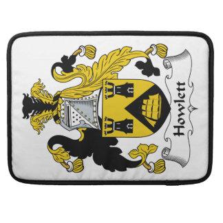 Escudo de la familia de Howlett Funda Macbook Pro