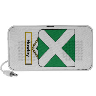 Escudo de la familia de Howley iPod Altavoces