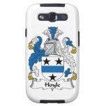 Escudo de la familia de Hoyle Galaxy S3 Fundas
