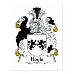 Escudo de la familia de Hoyle Postal