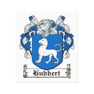Escudo de la familia de Hubbert Lienzo Envuelto Para Galerías