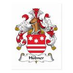 Escudo de la familia de Hubner Postales
