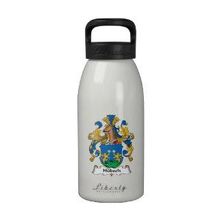 Escudo de la familia de Hubsch Botellas De Agua Reutilizables