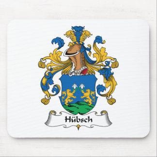 Escudo de la familia de Hubsch Tapete De Ratones