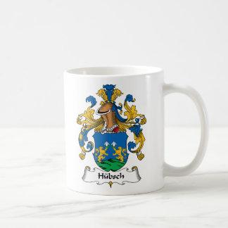 Escudo de la familia de Hubsch Taza