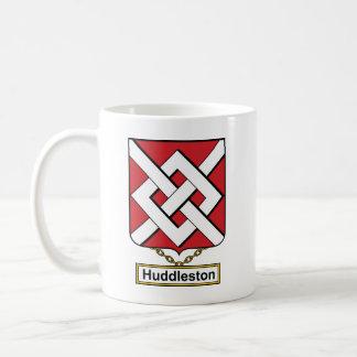 Escudo de la familia de Huddleston Taza