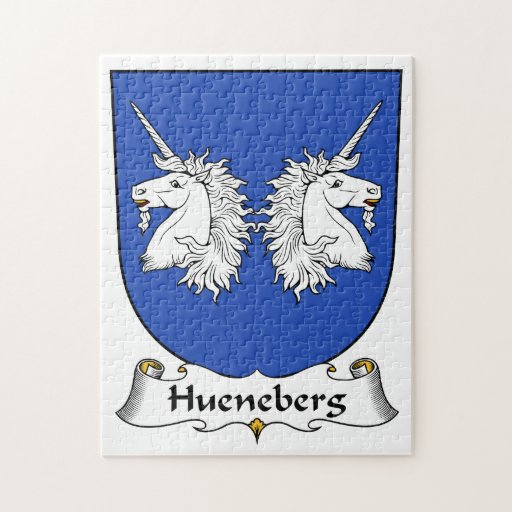 Escudo de la familia de Hueneberg Rompecabezas