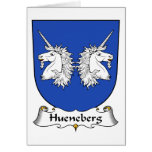 Escudo de la familia de Hueneberg Tarjetón
