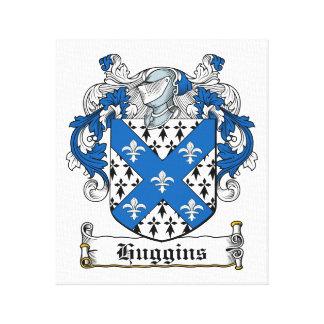 Escudo de la familia de Huggins Impresiones En Lona Estiradas