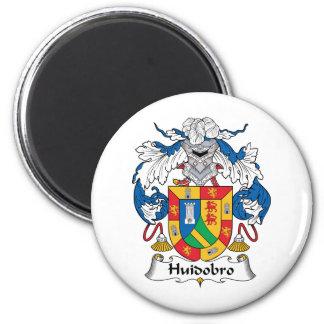 Escudo de la familia de Huidobro Imán Redondo 5 Cm