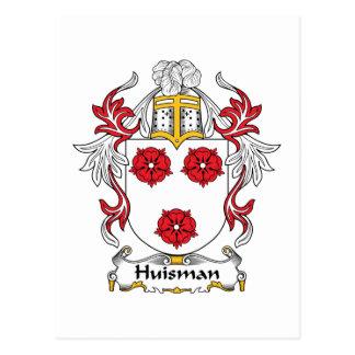 Escudo de la familia de Huisman Postal
