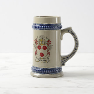 Escudo de la familia de Huisman Tazas De Café