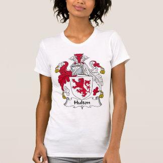 Escudo de la familia de Hulton Camiseta