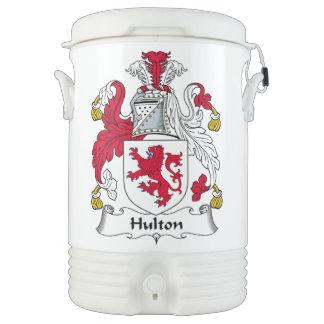 Escudo de la familia de Hulton Vaso Enfriador Igloo