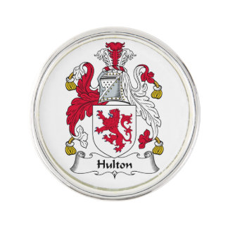 Escudo de la familia de Hulton Insignia