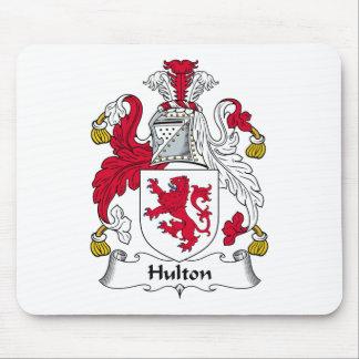 Escudo de la familia de Hulton Tapete De Ratones
