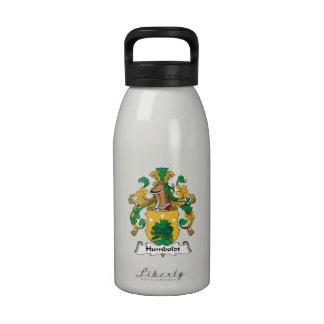 Escudo de la familia de Humboldt Botella De Agua Reutilizable