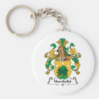 Escudo de la familia de Humboldt Llaveros
