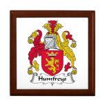 Escudo de la familia de Humfreys Caja De Recuerdo