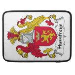 Escudo de la familia de Humfreys Funda Macbook Pro