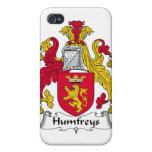 Escudo de la familia de Humfreys iPhone 4 Funda