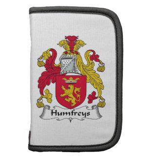 Escudo de la familia de Humfreys Organizadores