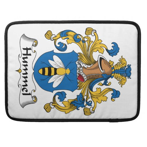 Escudo de la familia de Hummel Funda Para Macbook Pro