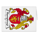 Escudo de la familia de Humphreys Felicitacion