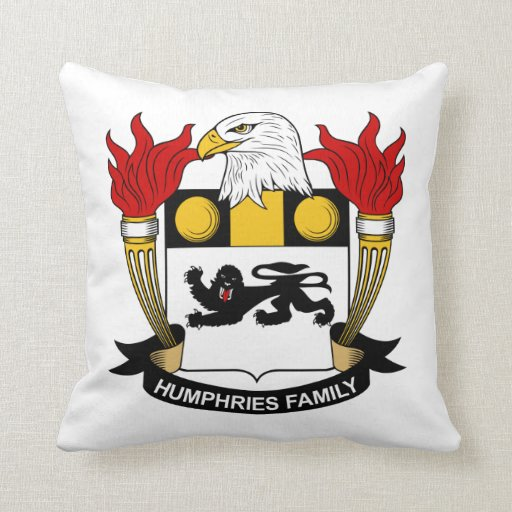 Escudo de la familia de Humphries Cojines