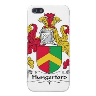 Escudo de la familia de Hungerford iPhone 5 Cárcasas
