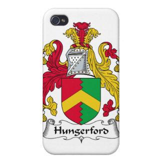 Escudo de la familia de Hungerford iPhone 4 Carcasas