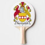 Escudo de la familia de Huntingfield Pala De Ping Pong