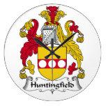 Escudo de la familia de Huntingfield Reloj