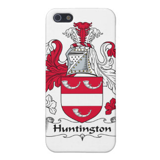 Escudo de la familia de Huntington iPhone 5 Protector