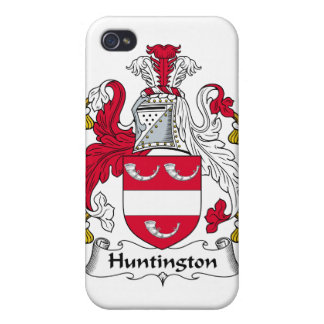Escudo de la familia de Huntington iPhone 4/4S Carcasa
