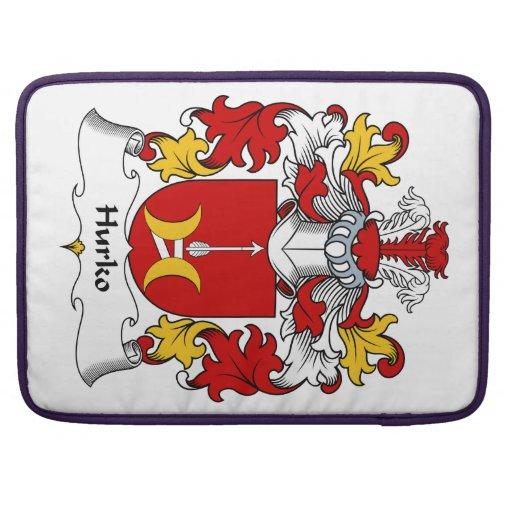 Escudo de la familia de Hurko Fundas Macbook Pro