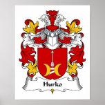 Escudo de la familia de Hurko Impresiones