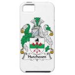 Escudo de la familia de Hutcheson iPhone 5 Case-Mate Cobertura