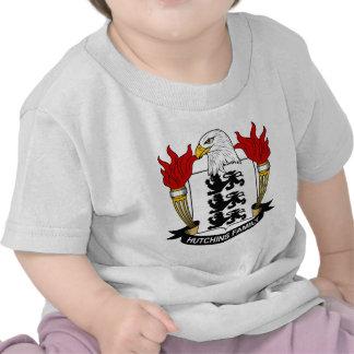 Escudo de la familia de Hutchins Camiseta