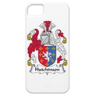 Escudo de la familia de Hutchinson iPhone 5 Carcasa