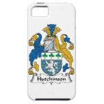 Escudo de la familia de Hutchinson iPhone 5 Cárcasa
