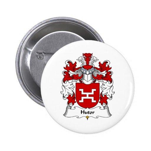 Escudo de la familia de Hutor Pin Redondo 5 Cm